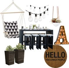 Balcony living. Loving these trends for spring ad summer 2015!