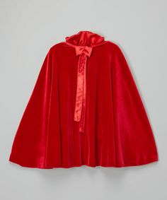 233647ae2d0 Take a look at this Red Velvet Cape - Infant