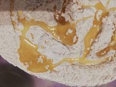 Hűtőben kelt kenyér recept lépés 2 foto