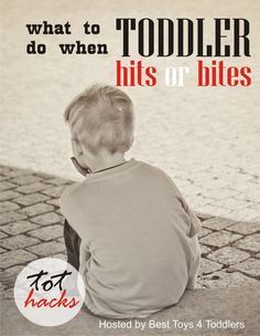 Tot Hacks - What to Do When Toddler Hits of Bites, answered by parents