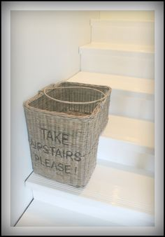 Rattan basket from Villa Wood (35 euros)