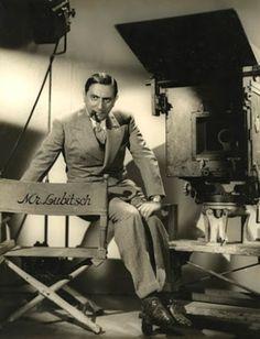 Ernst Lubitsch (German born American comedy director: Madame Dubarry [1919]…