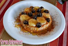 ... butter banana blueberry waffles whole wheat peanut butter banana