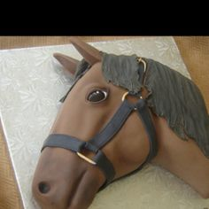 Horse birthday cake - Ideas for Aubrees 8th Birthday Cake
