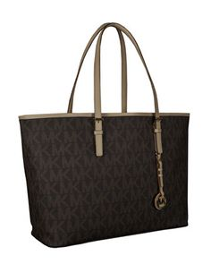 MICHAEL Michael Kors  Jet Set Logo Macbook Travel Tote. $299.95