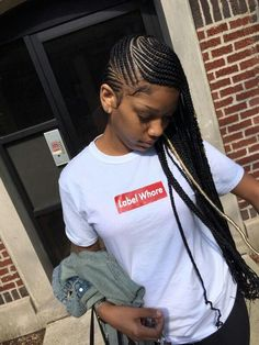 Top 60 All the Rage Looks with Long Box Braids - Hairstyles Trends Box Braids Hairstyles, My Hairstyle, Girl Hairstyles, Teenage Hairstyles, Protective Hairstyles, Lemonade Braids Hairstyles, Birthday Hairstyles, Hairstyles 2018, Latest Hairstyles