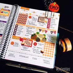 Second half in #pumpkinspicelatte week! Shops are tagged. #planner #plannergirl #plannerlove #plannernerd #planneraddict #plannergoodies #plannercommunity #erincondren #eclp #lifeplanner #washi #washilove #stickers #stickeraddict #wlec #weloveec #pgw #wildforthemes by jenjenplans