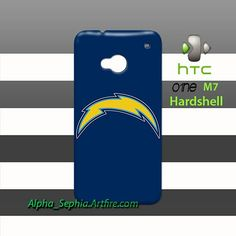 San Diego Chargers HTC One M7 Case Cover Hardshell