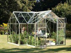 Vitavia Sirius Greenhouse £1798.00 http://www.greenhousestores.co.uk/Vitavia-Sirius-Silver-Orangery-Greenhouse-4mm-Float-Glazing.htm