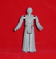 BALD EMPEROR CUSTOM HAND SCULPTED PROTOTYPE Product Page, Custom Action Figures, Studio S, Emperor, Sculpting, Star Wars, High Neck Dress, Vintage, Collection