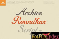 CreativeMarket   Archive Roundface Script From HotFileIndex