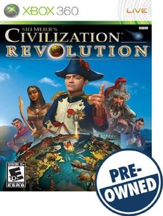 Sid Meier's Civilization Revolution — PRE-Owned - Xbox 360
