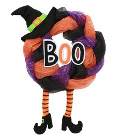 Witch 'Boo' Décor-Zulily