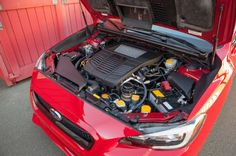 2015 Subaru WRX engine