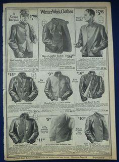 1924-5 Leather Jackets