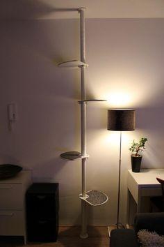 IKEA hack - Cat climbing pole