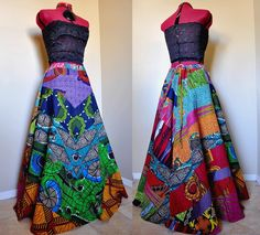 Long African Hippie Skirt
