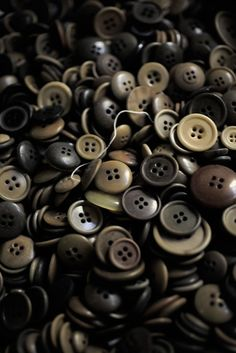 Honestly, if there was one thing I could have an outstandingly large collection of for no reason, it would be buttons. Jars and jars and jars of them.