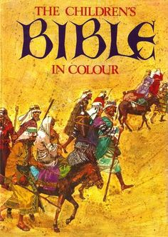 Hamlyn - Children's Bible - oh yes ... we had this didn't we sis!