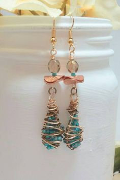 Check out this item in my Etsy shop https://www.etsy.com/listing/227803833/bohemian-earring-beaded-hippie-earring