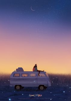 Imgur: The most awesome images on the Internet Anime Gifs, Anime Art, Aesthetic Art, Aesthetic Anime, Cute Wallpapers, Wallpaper Backgrounds, Cute Couple Art, Love Illustration, Volkswagen Bus