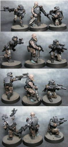 Conversion, Elysians, Henchmen, Imperial Guard, Inquisition, Warhammer 40,000