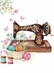 Resultado de imagem para desenho de maquina de costura para imprimir