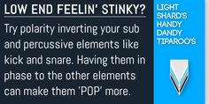 Low End, Helpful Hints, Pop, How To Make, Useful Tips, Popular, Pop Music