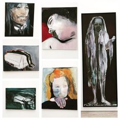 Grateful I got to see these works from Marlene Dumas in person, so inspiring. #art #artist #marlenedumas #inspiration