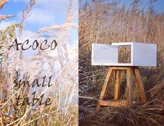 Mały  uniwersalny stolik  #acoco #acocodesign #wood #meble #cafe #pień #withe #dawanda_pl #stolikAA #biały #żółty #pokójdziecięcy #sypialnia #meble #new #art #furniture #promocja #rabat #modern #design #nowoczesna #garderoba #salon #sypialnia #wnętrze #home #book by acoco_style