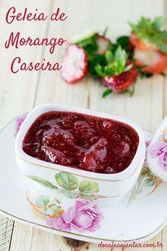 Geleia de Morango Caseira | Do Café ao Jantar
