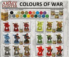 El Descanso del Escriba: Guia de pintado de The Army Painter...para W40K