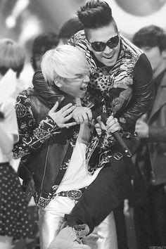 Taeyang and Daesung ♡ #BIGBANG #TaeDae