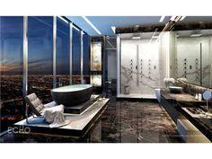 Luxury Penthouse, Luxury Condo, Luxury Homes, Luxury Decor, Luxury Apartments, Arquitectura Wallpaper, Cheap Bathrooms, Bathroom Design Luxury, Luxury Bathrooms