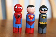 Superhero Pals by littlebittytoys on Etsy, $21.00