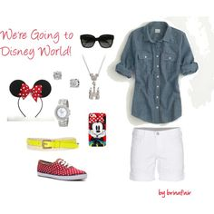 """Disney World 1"" by brinafair on Polyvore, disney world, outfit"