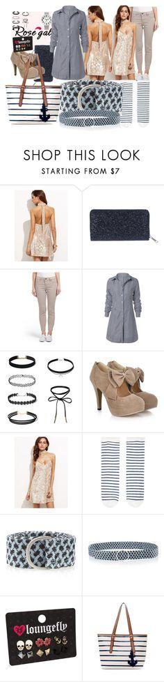 """Win $20 Cash from Rosegal"" by lerp ❤ liked on Polyvore featuring Accessorize, CECILIE Copenhagen, Loungefly, vintage, Nautical and layers"