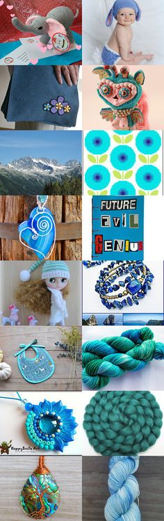 Coping With The Winter Blues  by Jennifer on Etsy--Pinned with TreasuryPin.com