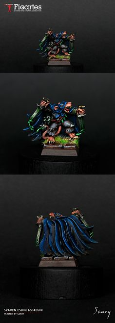 Skaven Assasin. Clan Eshin