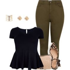 plus size simple and cute lk/work or date