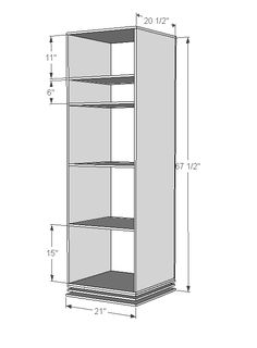Ana White | Build a Rotating Teen Storage Unit | Free and Easy DIY Project and Furniture Plans
