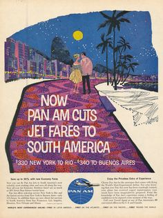 advertisement: Pan American World Airways | http://www.flysfo.com/museum/