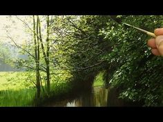 THE COMMISSION | LANDSCAPE OIL PAINTING | MICHAEL JAMES SMITH - YouTube
