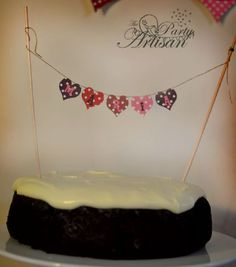 Cake banner - The Party Artisan
