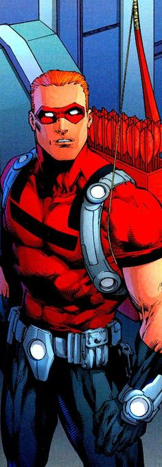 Arsenal by Ed Benes Comic Book Characters, Comic Character, Comic Books Art, Comic Art, Dc Comics Art, Fun Comics, Arsenal Dc, Arrow Roy Harper, Arrow Comic