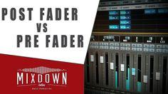 QUICK TIP - Post Fader VS Pre Fader ''sends'' in CUBASE 8 - mixdownonlin...