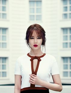 Yoon Eun-hye // Harper's Bazaar Korea // June 2013