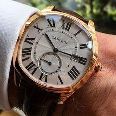 """2e19ca0fea0 chezdandy  """" Cartier Drive - Some class… """" Relógios Cartier"""