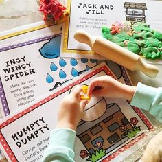We are getting stuck into playdough today. these nursery rhyme playdough mats are always a favourite in our house at playdough time ☺️ Primary School Curriculum, Play Doh Fun, Humpty Dumpty, Jack And Jill, Australian Curriculum, Nursery Rhymes, Classroom, House, Class Room