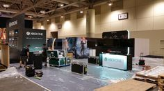 #RoadTrip FanExpo Canada Microsoft is here as XboxCanada Getting ready to display the Halo 5 LE System!
